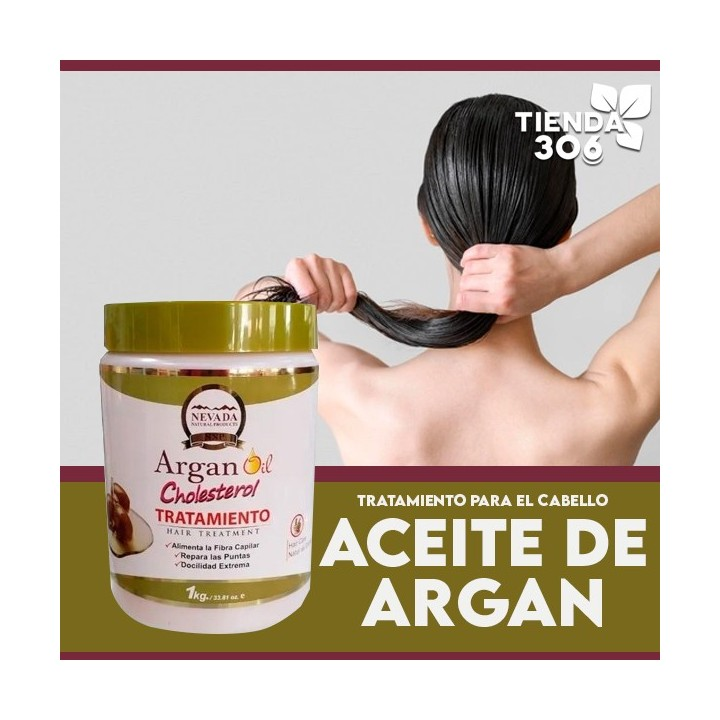 Nevada Tratamiento Aceite der Argan Cholesterol 1 K Reconstruccion Capilar Total C1130 Nevada Natural Products