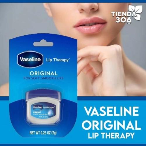 Vaselina para Labios Lip Therapy de Vaseline Original Made in the USA 0,25 oz (7g) C1108 Vaseline