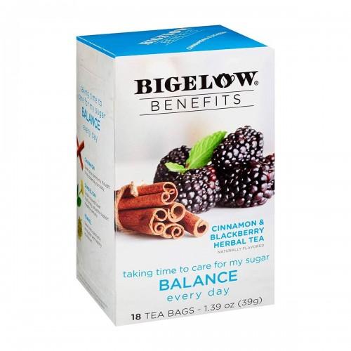 Te BIGELOW Herbal Canela y Mora con Sabor Natural Libre de Cafeina 18 Bolsitas 39g T2010 BIGELOW