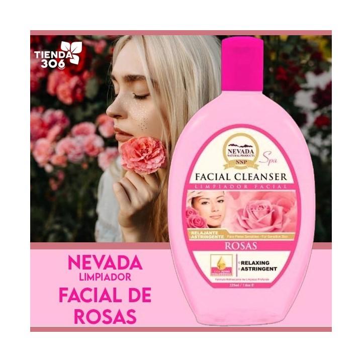 Limpiador Facial Tonico de Rosas Nevada Natural Products 225 ml C1085 Nevada Natural Products