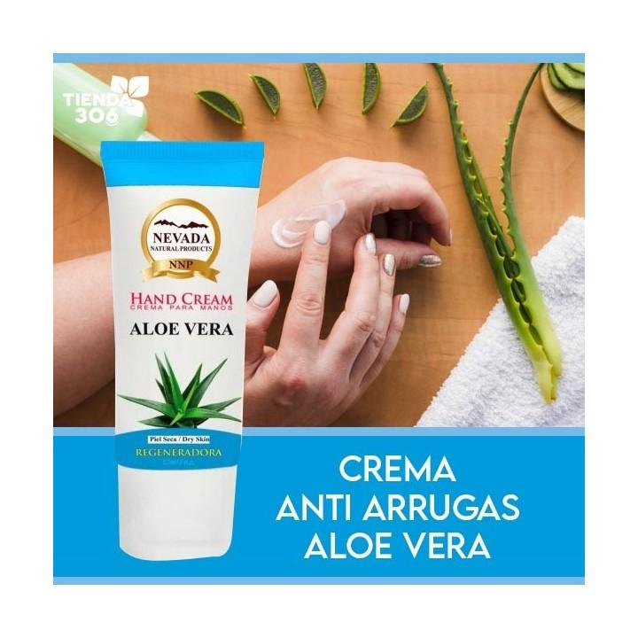 NEVADA NATURAL PRODUCTS Crema para Manos Regeneradora con Aloe Vera 80 ml (2.7 Oz) C1113 Nevada Natural Products