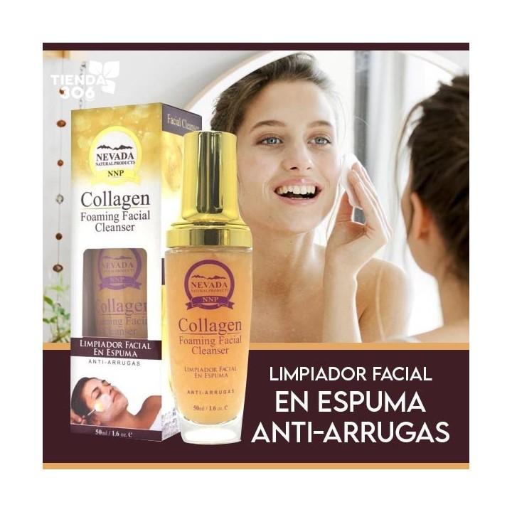NEVADA NATURAL PRODUCTS Limpiador Facial en Espuma Anti-Arrugas 50ml (1.6 oz) C1117 Nevada Natural Products