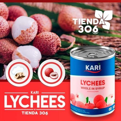 Lychees Enteros en Jarabe Kari 567 g D1140 Kari
