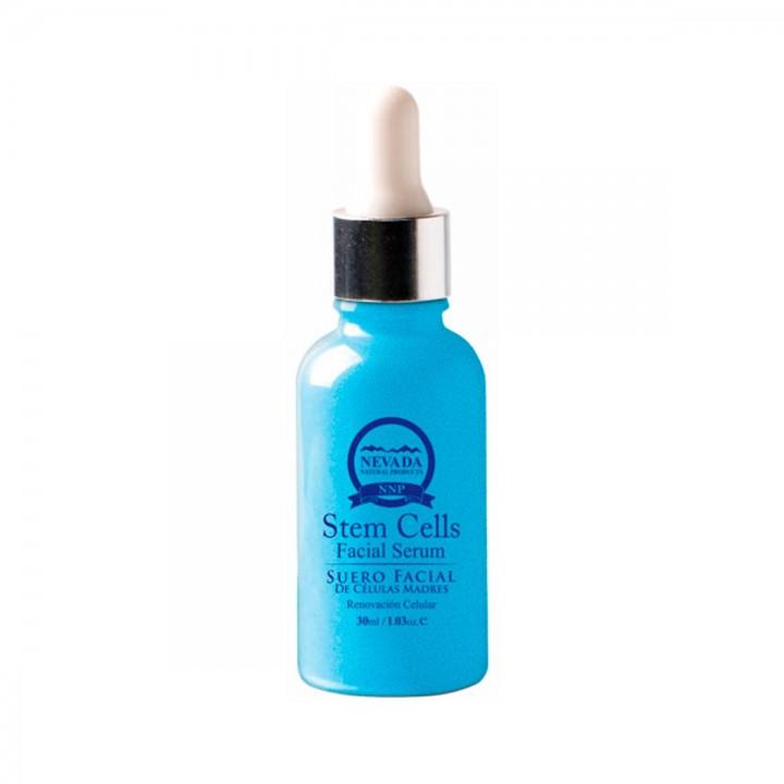 NEVADA NATURAL PRODUCTS Suero Facial de Celulas Madres Vegetal y Acido Hialuronico 30ml C1165 Nevada Natural Products