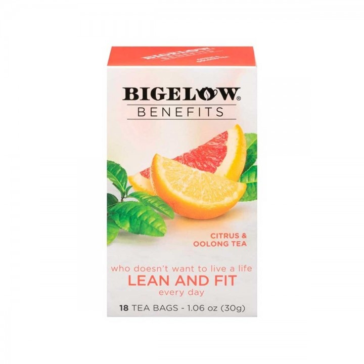Te Bigelow Oolong Tea Citrico 18 Bolsitas 30g T2068 BIGELOW