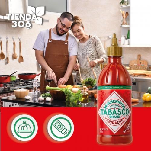 TABASCO Salsa Sriracha Intensidad Alta 256 ml D1164 Mc Ilhenny