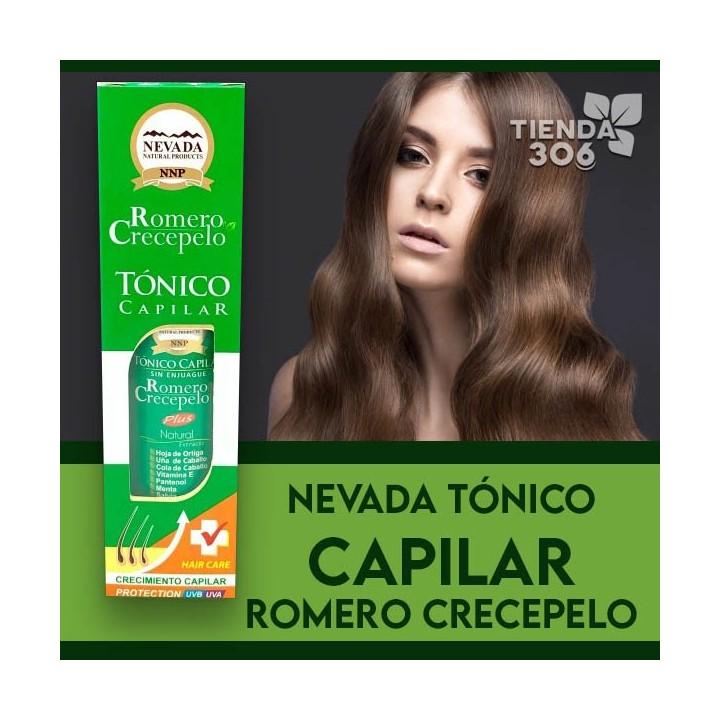 Nevada Tonico Capilar Romero Crecepelo Sin Enjuague 100 Ml C1162 Nevada Natural Products
