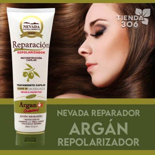 Nevada Natural Products Repolarizador Aceite de Argan 280 ml C1163 Nevada Natural Products