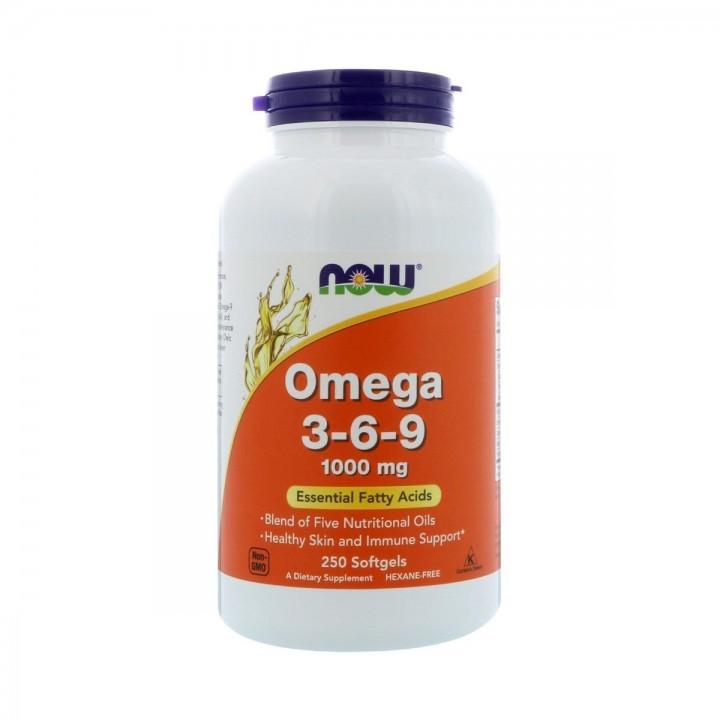 Omega 3-6-9 Now Foods 1000 Mg Tienda 306