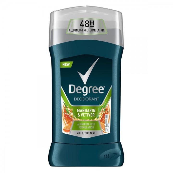 Degree Desodorante Mandarina y Vetiver Libre de Aluminio 48 Horas de Proteccion C1174 Degree