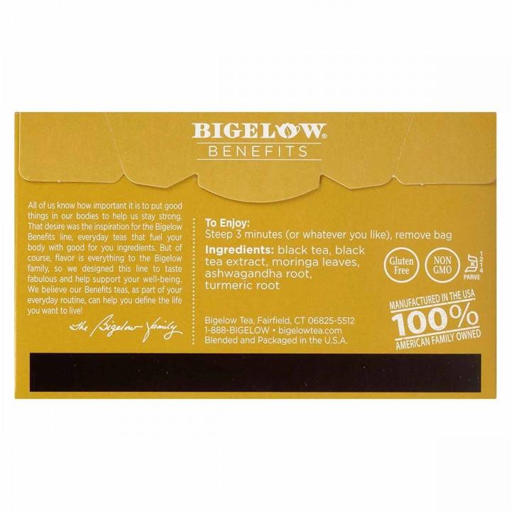 Bigelow Te Negro con Moringa 18 Bolsitas (34g) T2072 BIGELOW