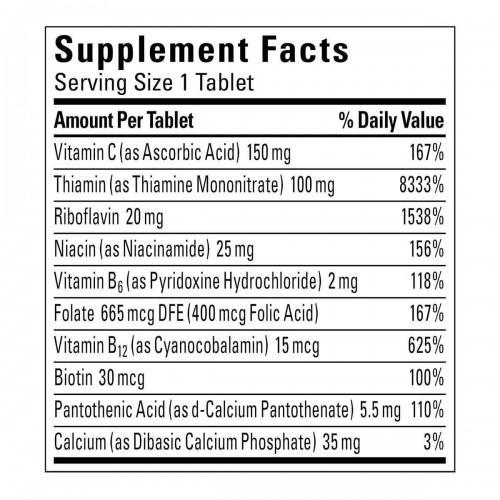 Nature Made Complejo B Super B Complex con Acido Folico + Vitamina C 460 Tabletas V3032 Nature Made