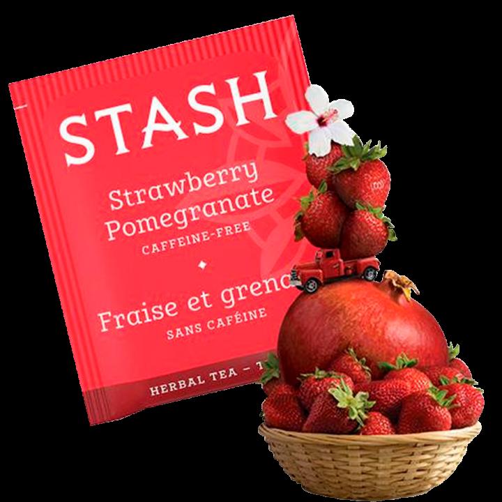 Te STASH Strawberry Pomegranate Caffeine-Free 18 Bolsitas 32 g T2016 STASH