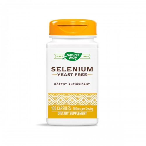 Nature's Way Selenio Antioxidante Potente 200 mcg 100 Cápsulas V3127 Nature's Way