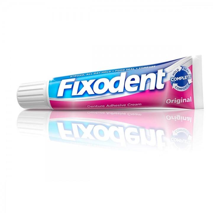 Crema Adhesiva para Dentaduras Postizas Fixodent Original 1.4 Oz (39g) C1072 FIXODENT