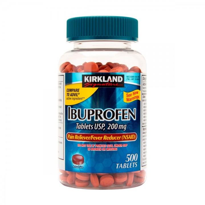 Kirkland Ibuprofen 500 Tabletas 200mg V3194 Kirkland Signature