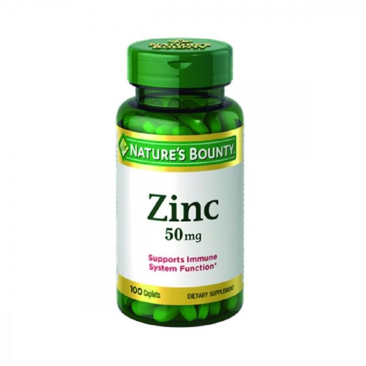 Quelato de Zinc Nature's Bounty 50 mg 100 Pastillas Tienda 306