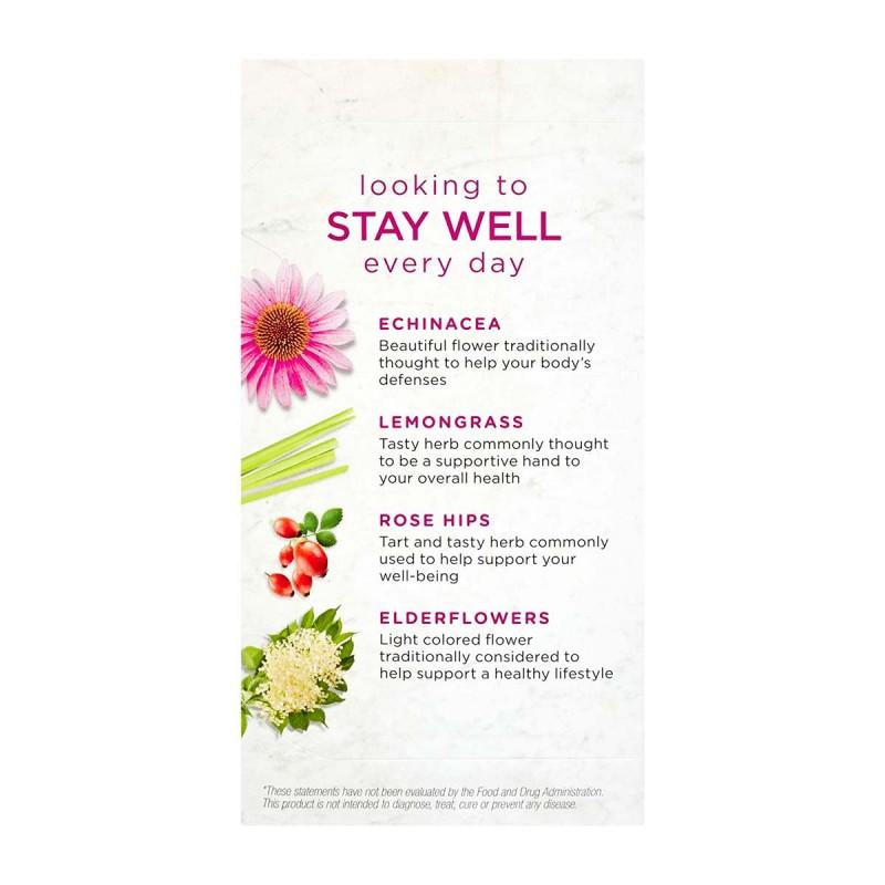 Bigelow Te Herbal Limon y Echinacea 18 Bolsitas (32g) T2075 BIGELOW