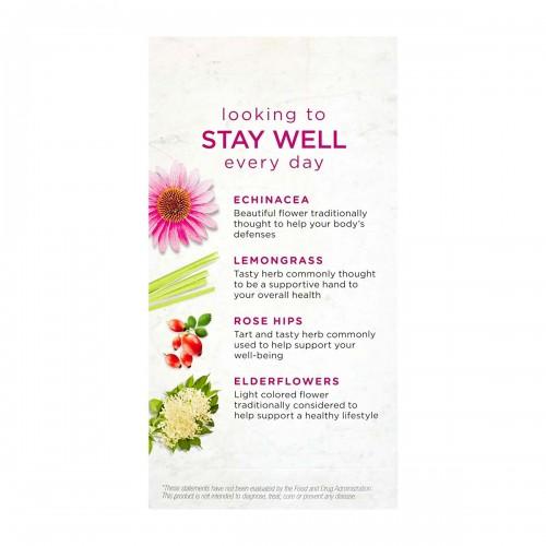Té Bigelow Herbal Limón y Echinacea Libre de Cafeína 18 Bolsitas 32g T2075 BIGELOW