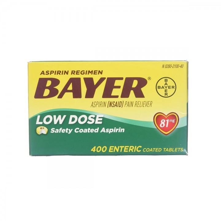 Aspirin Regimen Aspirina Americana Bayer® 81 Mg Tienda 306