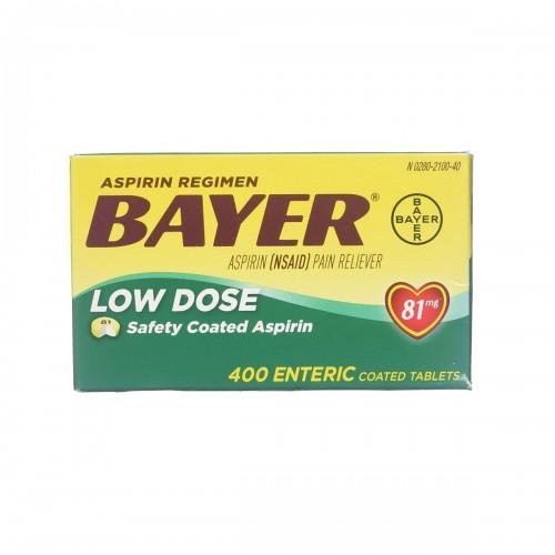 Aspirin Regimen Aspirina Americana Bayer® 81 mg 400 Tabletas V3031 Bayer