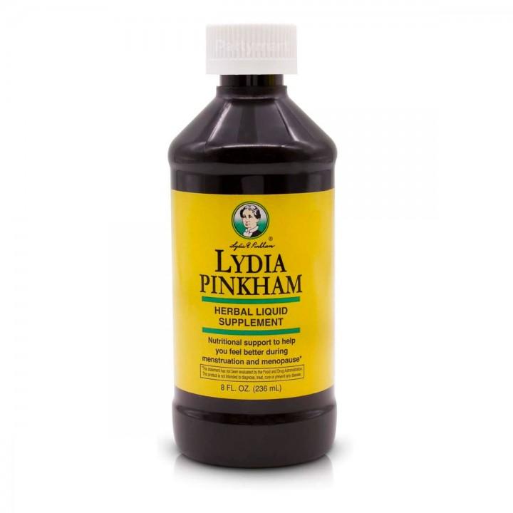 Lydia Pinkham Suplemento de 7 Hierbas Liquido 8 fl. oz. (236 ml) V3180 LYDIA PINKHAM