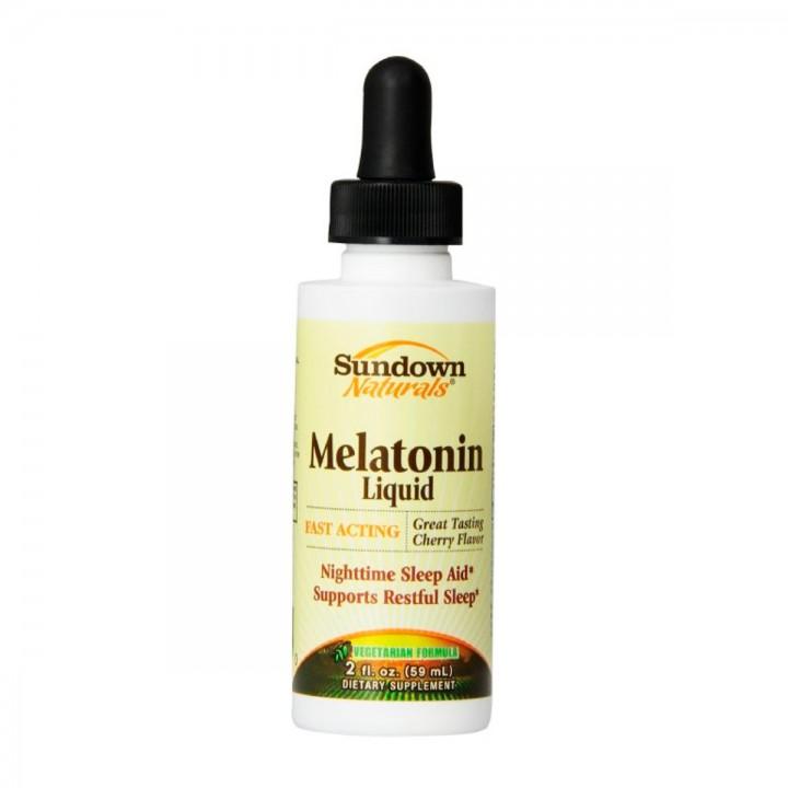Sundown Melatonina Liquida 1 Mg 59 Ml V3263 SUNDOWN NATURALS