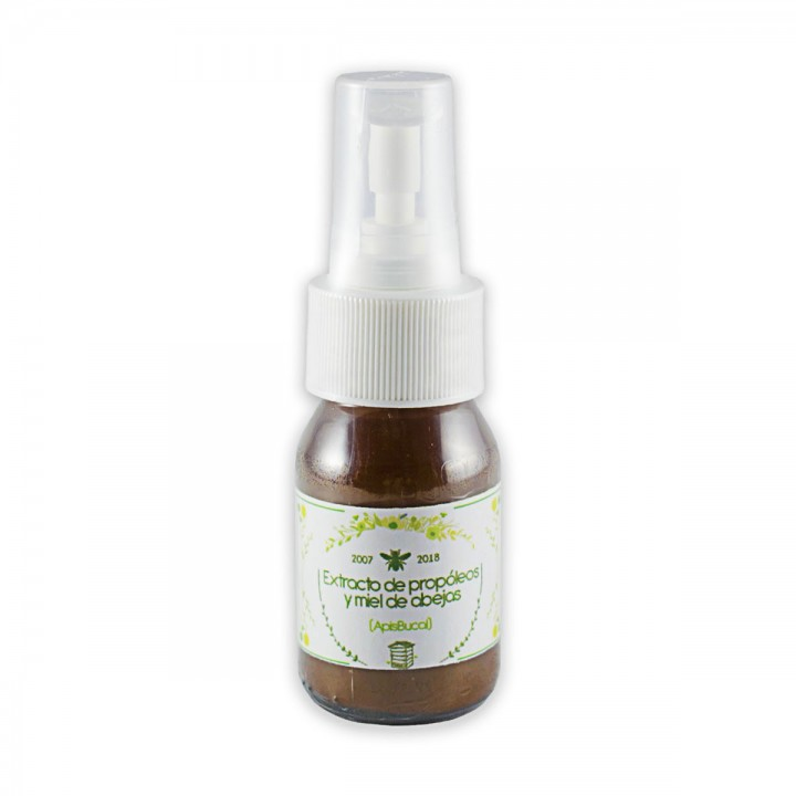 Apisbucal Extracto De Propoleo Y Miel De Abejas Organico 100% Natural 60 Ml C1189 Apis Health