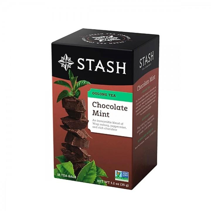 Te STASH Oolong Tea Chocolate Mint 18 Bolsitas 35 g T2021 STASH