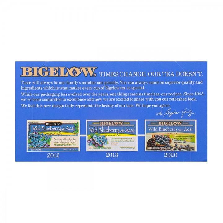 Bigelow Te Herbal Arándanos Y Acai 20 Bolsitas (41 G) T2082 BIGELOW
