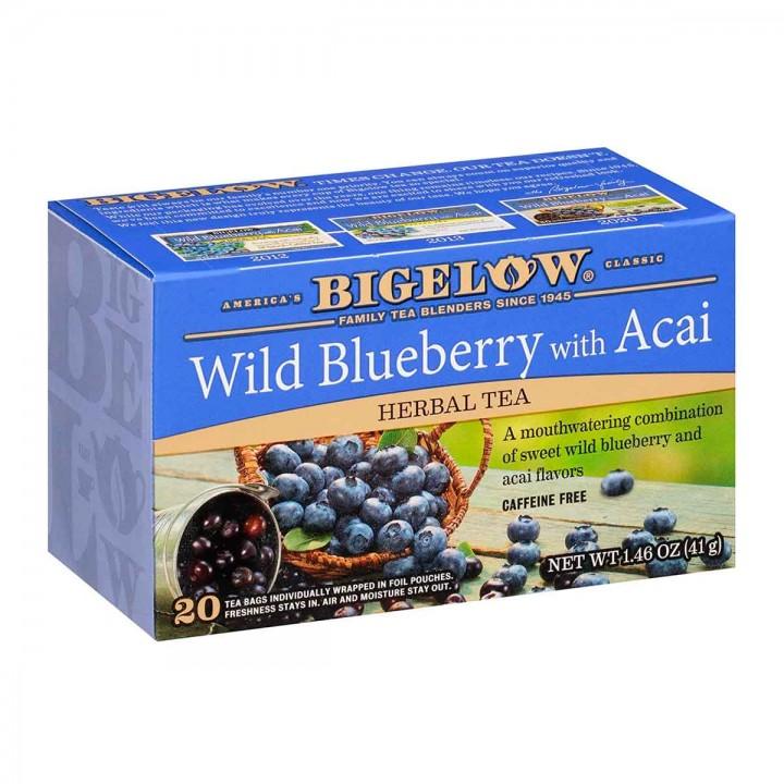 Bigelow Te Herbal Arándanos Y Acai 20 Bolsitas 41g T2082 BIGELOW