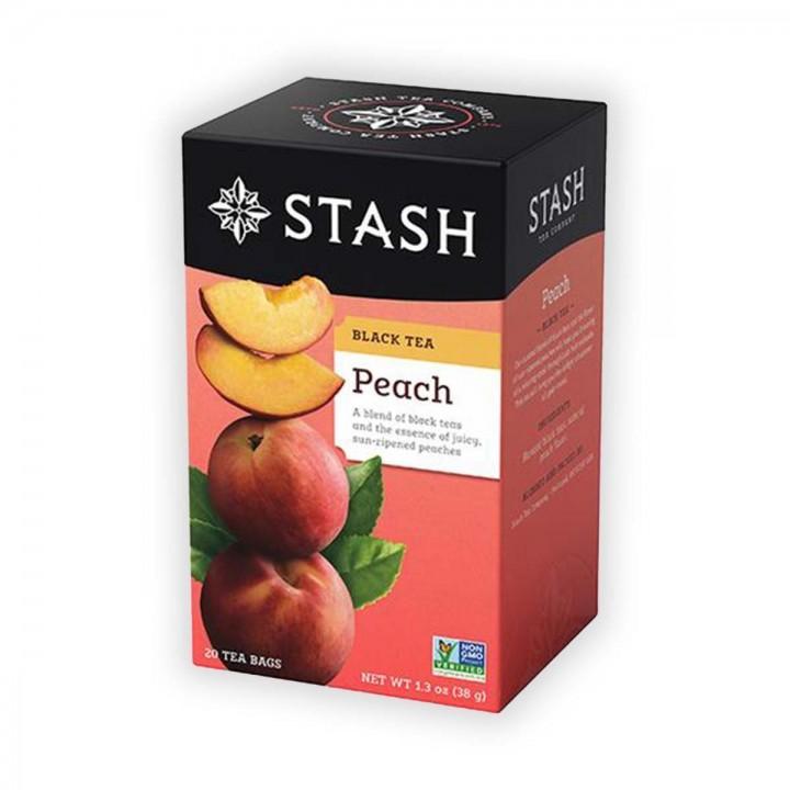 Te STASH Black Tea Peach 20...