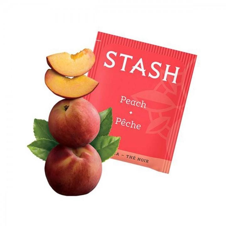 Te STASH Black Tea Peach 20 Bolsitas 38 g T2020 STASH