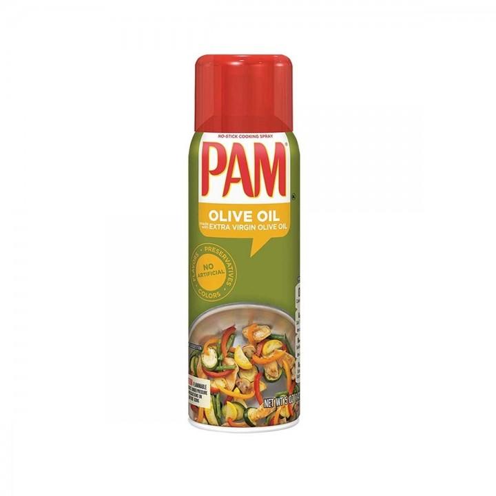 Aceite de Oliva Pam  Spray Extravirgen Sin Colorante Artificiales Tienda 306