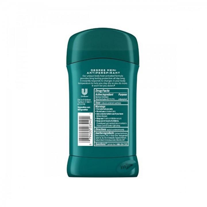 Desodorante Antitranspirante Degree Mens Dry Protection Cool Rush Protección en Seco 2.7 Onzas (76g) C1004 Degree