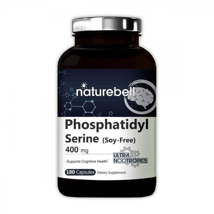 Fosfatidilserina -Phosphatidyl Serine Naturebell Promueve el razonamiento lógico Tienda 306
