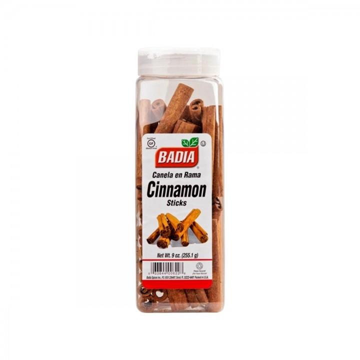 Canela en Rama (Cinnamon Sticks) Badia Gluten Free 9 oz. (255.1 g) D1104 BADIA