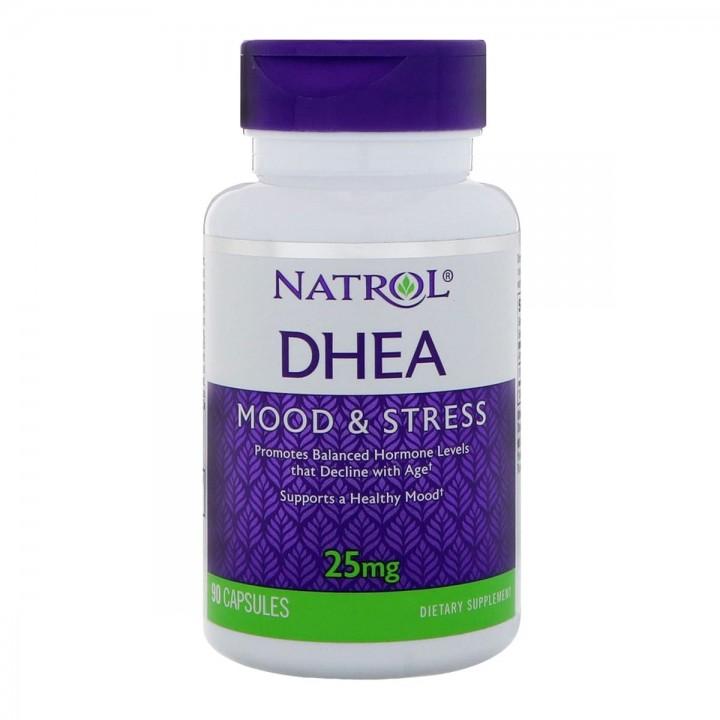 DHEA Mood & Stress NATROL 25mg 90 Tabletas V3058 Natrol