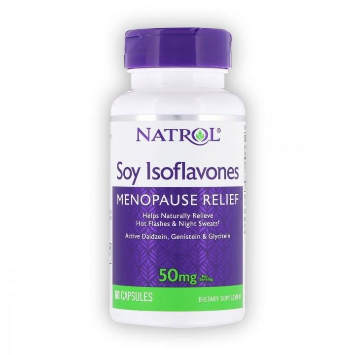 Natrol Isoflavones de Soya...