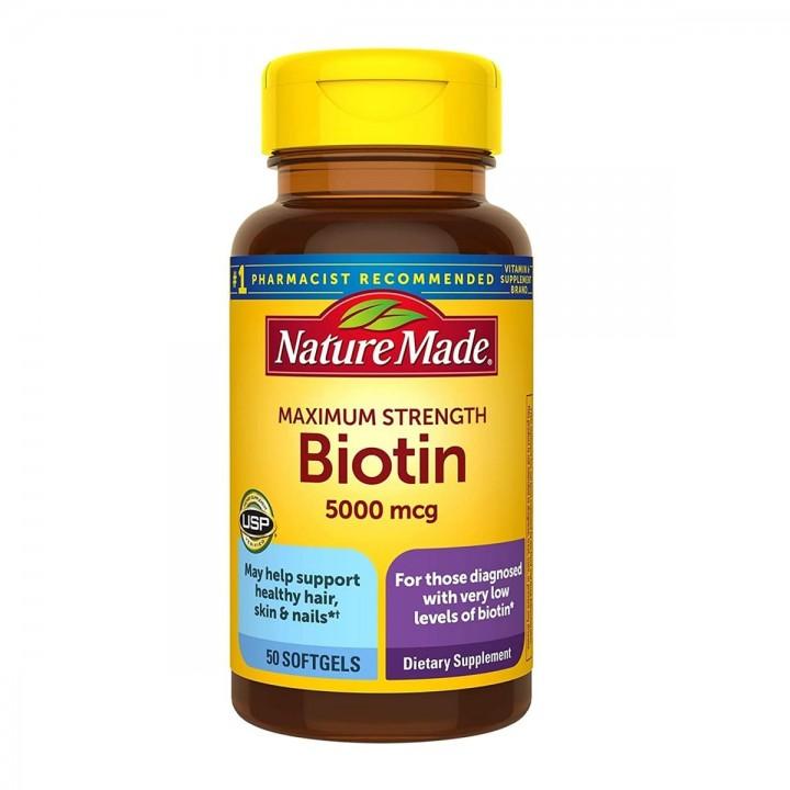 Nature Made Biotin – Biotina Tienda 306