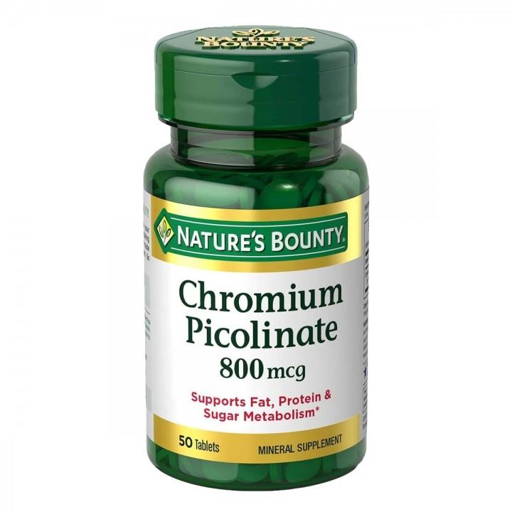 Nature's Bounty Picolinato De Cromo Tienda 306