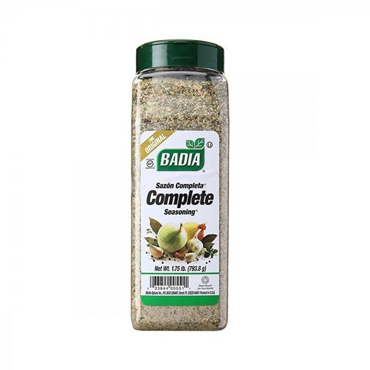 Badia Spices  Sazon Completa  Mezcla de ajo, cebolla, hierbas y especias Tienda 306
