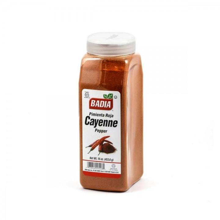 Cayenne Pimienta Roja Especias de Cocina Badia Gluten Free 16 Oz (453.6g) D1107 BADIA
