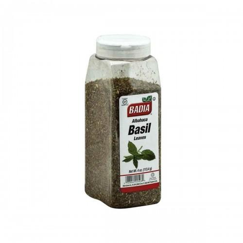 Albahaca Badia Spices Basil Leaves Gluten Free 4 Oz (113.4 G) D1110 Badia