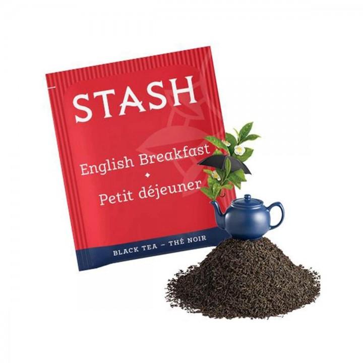 Te STASH Black Tea Decaf English Breakfast 18 Bolsitas 36 g T2032 STASH