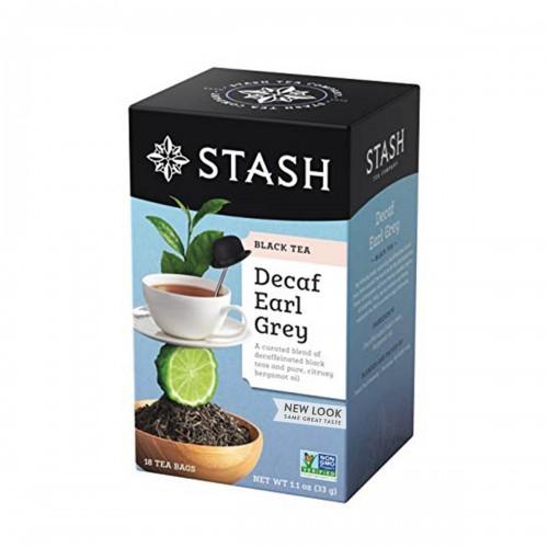 Te STASH Black Tea Decaf Earl Grey 18 Bolsitas 33 g T2031 STASH