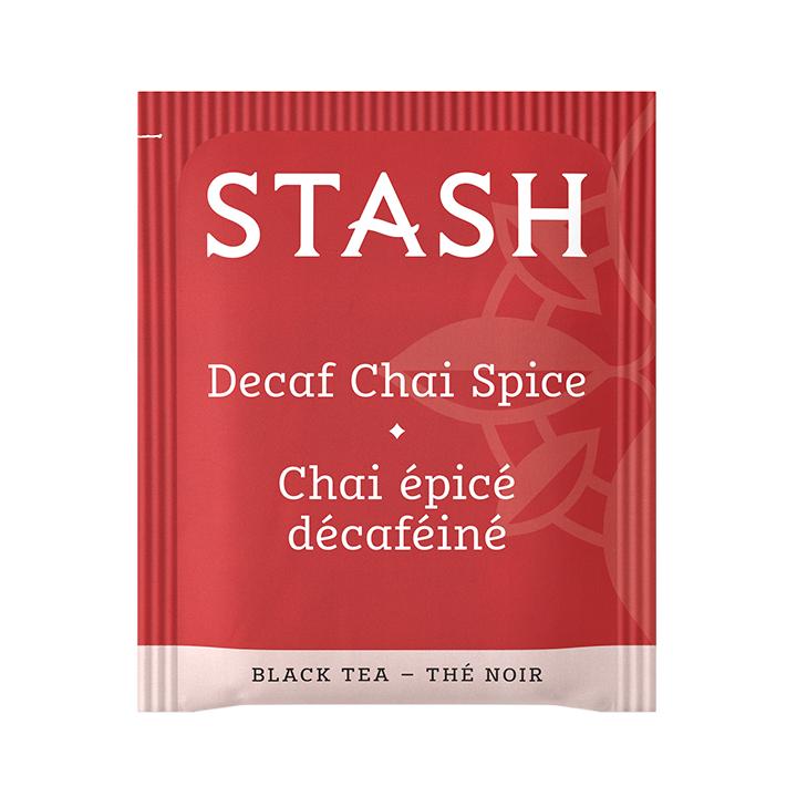 Chai Spice Te STASH Decaf Black Tea 18 Bolsitas 33 g T2033 STASH