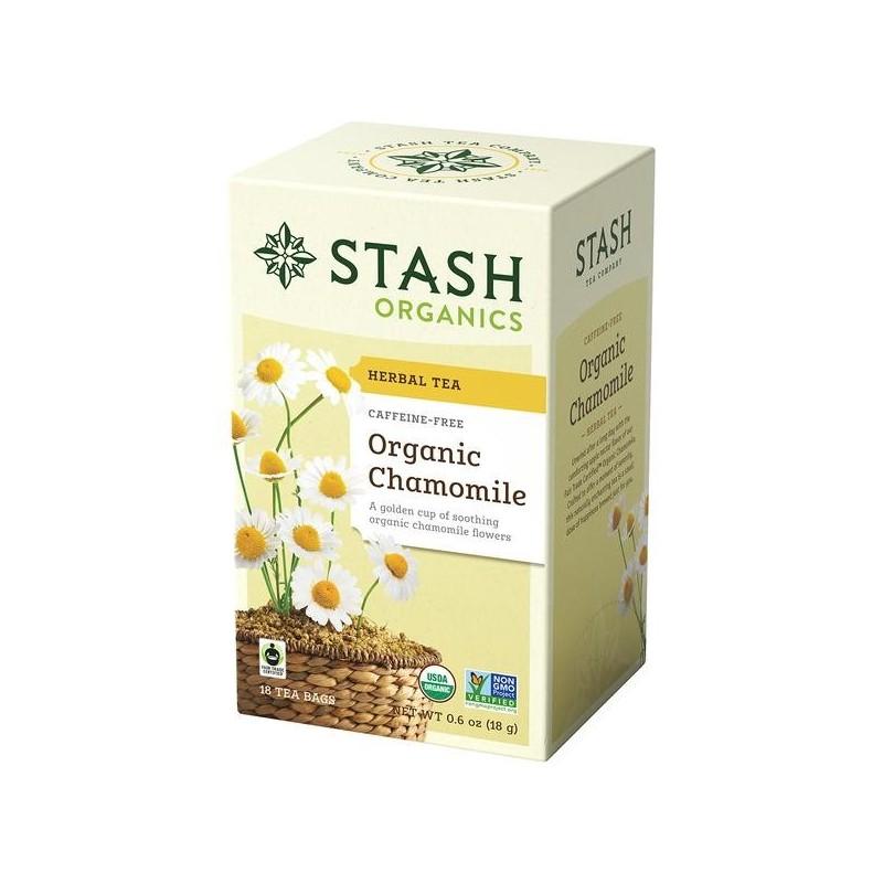 Te STASH Organic Chamomile Herbal Tea 18 Bolsitas 18 g T2037 STASH