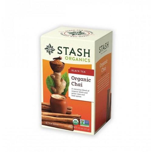 Te STASH Organic Chai Black Tea 18 Bolsitas 33 g T2038 STASH