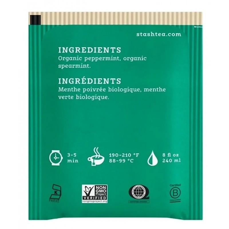 Te STASH Organic Premium Green Tea 18 Bolsitas 33 g T2040 STASH
